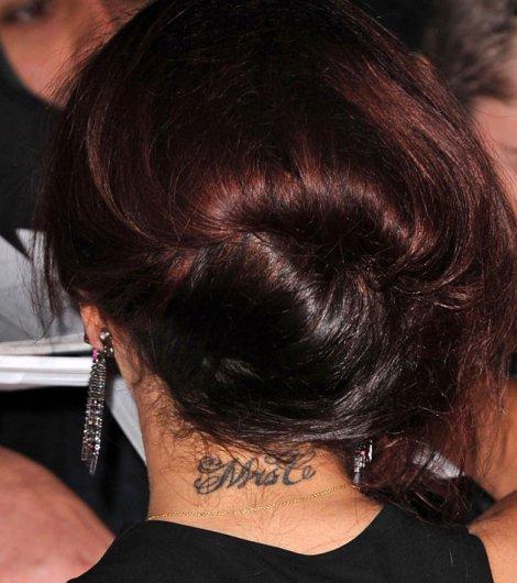 Cheryl Mrs C Mrs Cole neck Tattoo Design picture photo idea