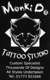 Monki Do Tattoo Studio Artists UK