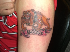 British English Bulldog Tattoo design photo picture idea