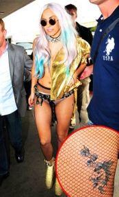 Lady Gaga Unicorn Tattoo Design photo picture idea