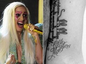 Lady Gaga Little Monsters Tattoo Design photo picture idea