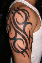 Arm Tribal Tattoo Design photo picture idea
